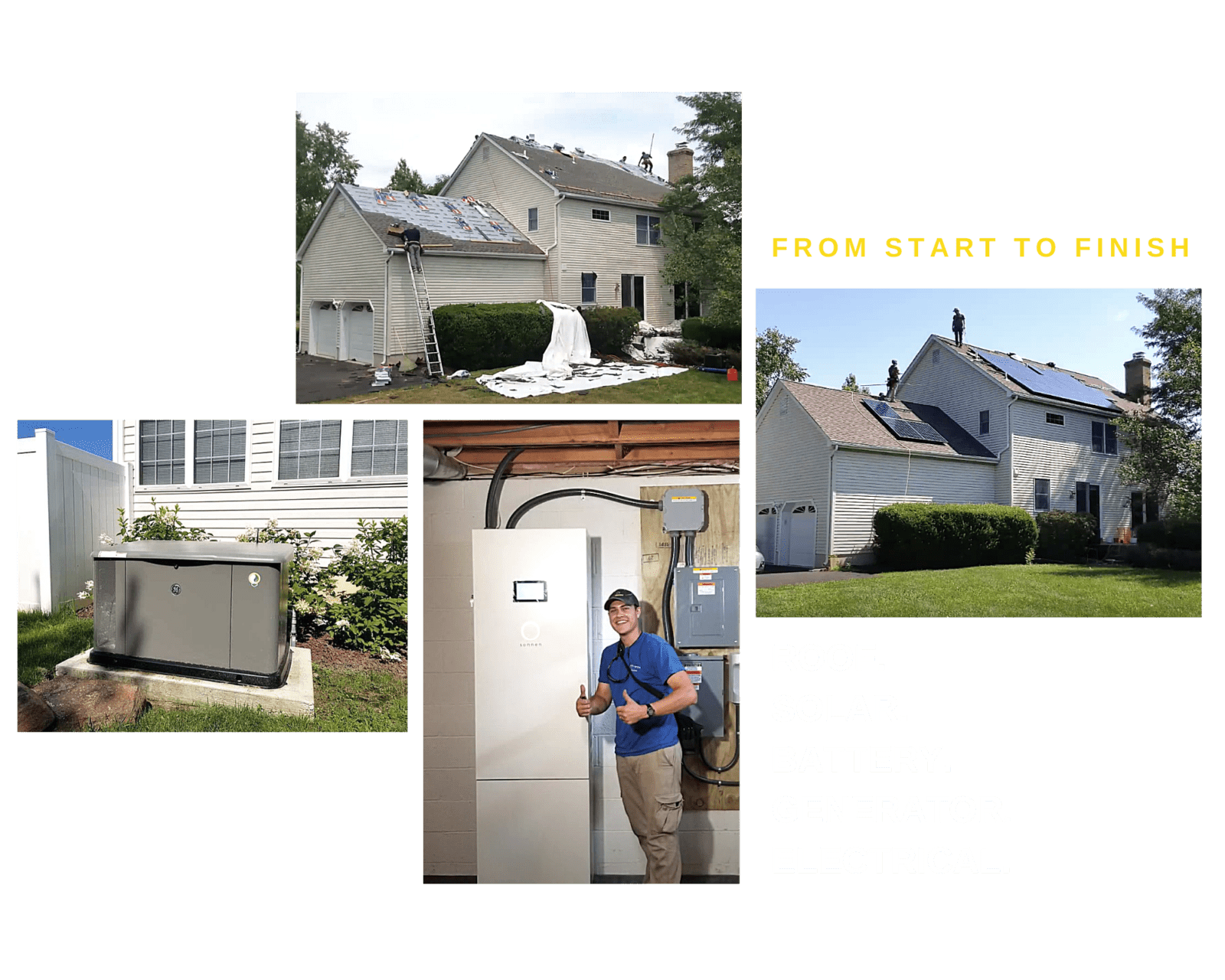 Roofing, Solar, Battery, Generator and Electrical Services from GenRenew