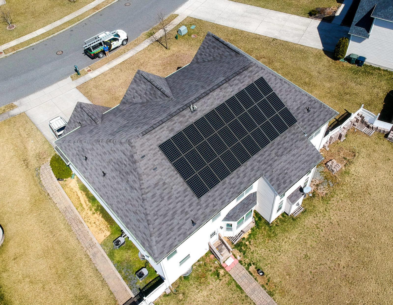 solar panels installed by genrenew