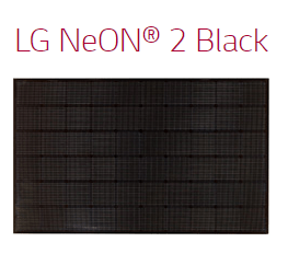 LG NeON 2 Black Solar Panel installed by GenRenew