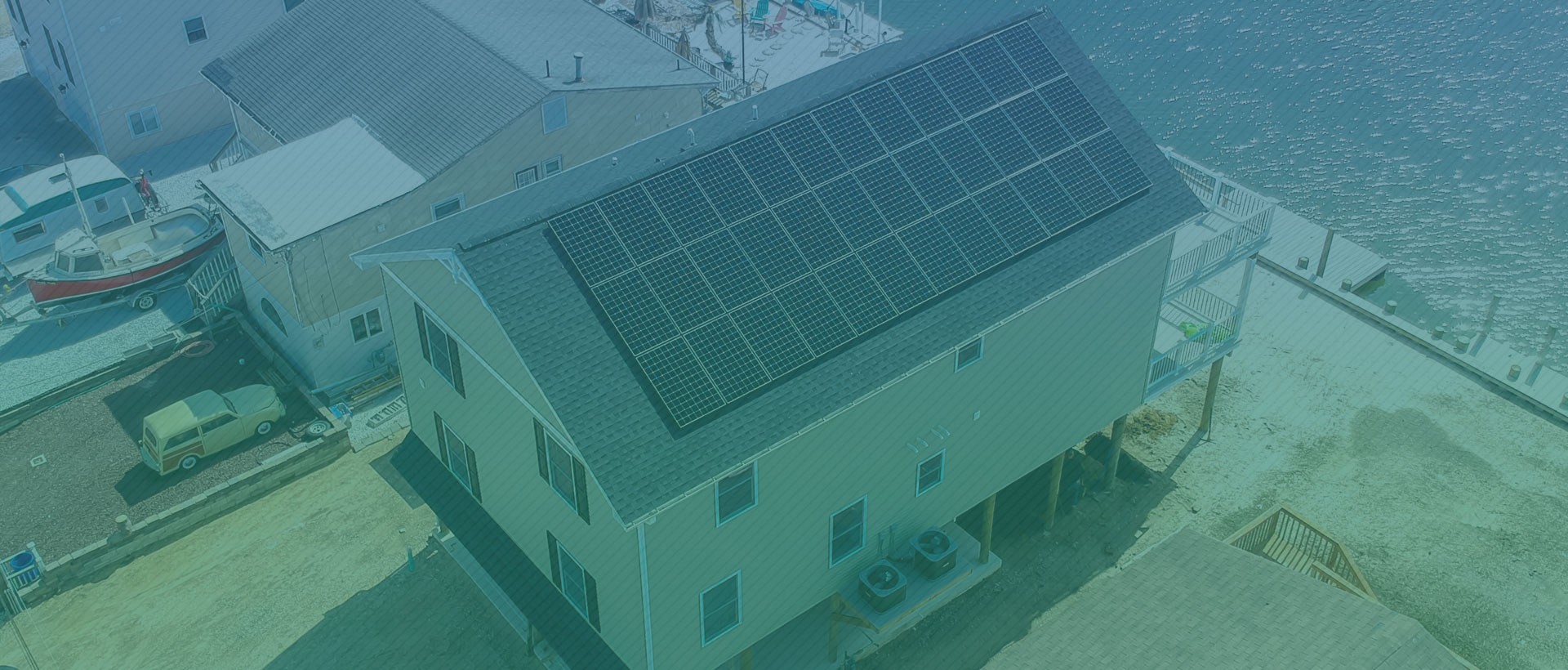 Houses with Solar Panel Installed by GenRenew